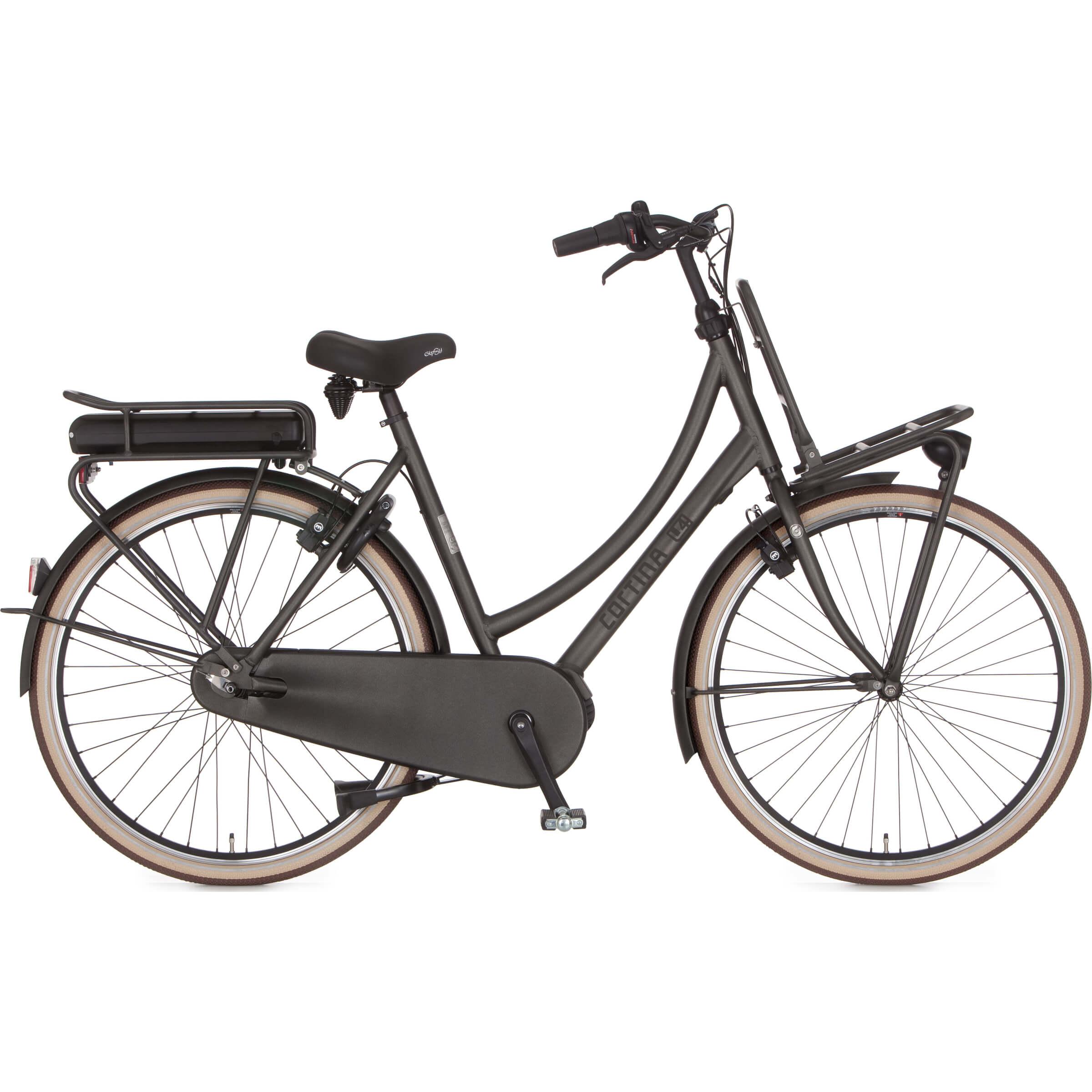 Cortina E-U4 raw elektrische fiets | Guill van de Ven | Tilburg