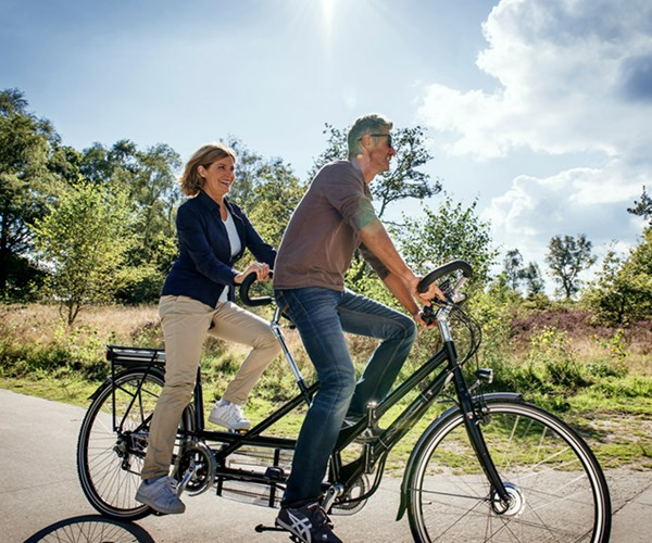 Tandem fiets | Guill van de Ven Fietsen | Tilburg