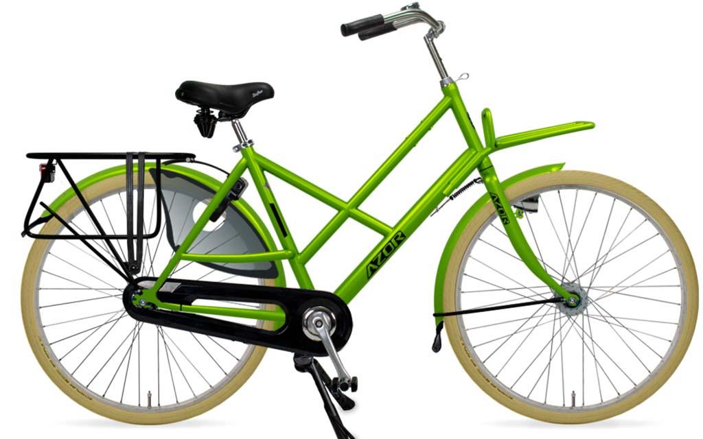 workman apple green Azor fiets | Guill van de Ven | Tilburg