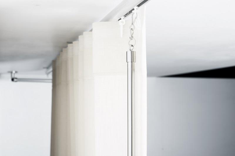 RVS gordijnrails | XXL Designroeden